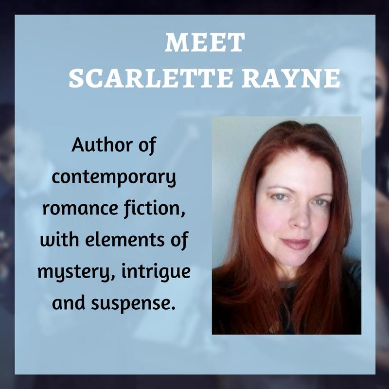 Meet Scarlette Rayne @ScarletteRayne1